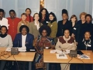 A group of women participating in AFLA's first conference on The Legal Profession and the Protection of Human Rights in Africa, Maastricht 1997